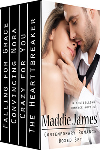 Maddie James' Contemporary Romance Boxed Set