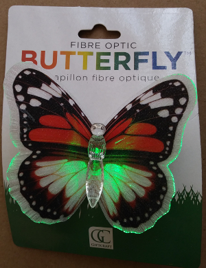Fibre Optic Butterfly