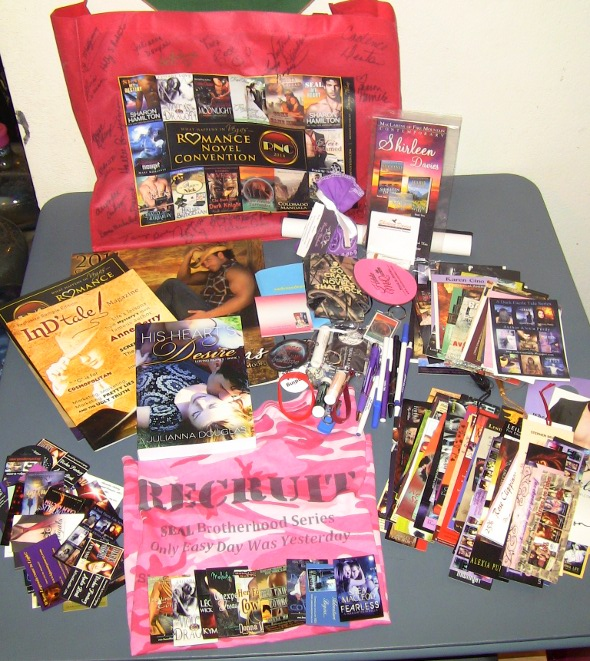 Romance Novel Convention Prize Package